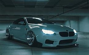 宝马M6改装PSM宽体,轿跑车型改装后魅力无限