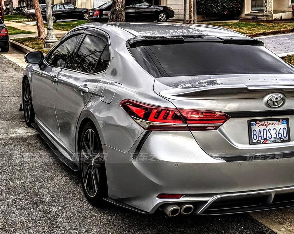 新款丰田凯美瑞VIP风格改装案例 贴地姿态美极了