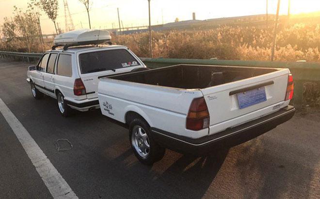 车友收了辆08年警版桑旅翻新改装 移植帕萨特1.8T发动机