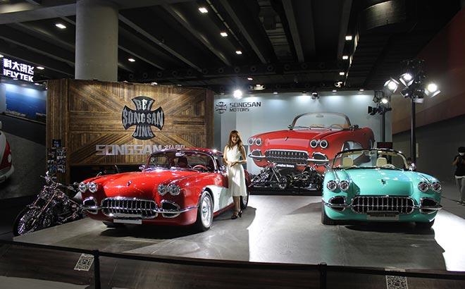 可挂牌的复古跑车 松散机车亮相2020广州国际改装车展