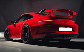 保时捷911改装GT3包围,配大尾翼的原厂升级风格!