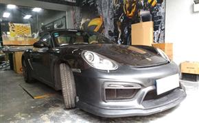 保时捷卡曼改装GT4包围,原厂升级风格,适合987.2车型安装!!