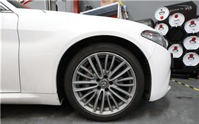 白色阿尔法罗密欧Giulia 2.0T 刷ECU动力升级 ACRracing助力性能燃烧!