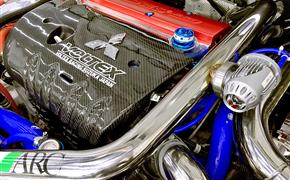 三菱翼神移植2.4发动机改装TD05涡轮增压