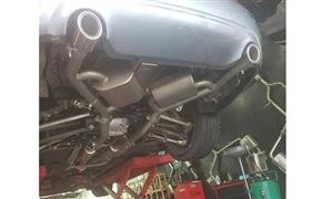 英菲尼迪Q50  3.7升级台湾BP-II高性能排气中尾段