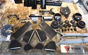新奧迪A4L升級原廠B&O音響+副駕駛液晶屏+原廠胎壓監測