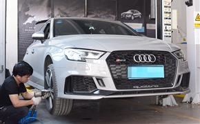 奥迪RS3升级原厂胎压监测系统