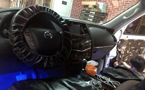温暖入声 日产途乐汽车音响改装意大利卓傲-APP165两分频套装