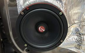 东风580改装德国斯洛琴汽车音响套装喇叭