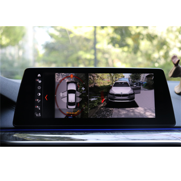 新款宝马5系G38改装360度3D环视全景上帝视角