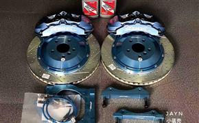宝马X3(G08)改装Rotora刹车系统