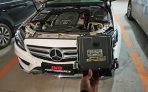 奔馳C200L刷ING特調ECU動力強勁超車更自信