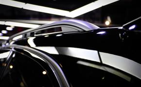 奥迪A6 allroad改色TPU自修复黑色车衣+RS蜂窝中网