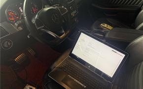 奔驰GLE450 Coupe刷ECU 动力升级 刷动力 德国ING Performance一阶特调程序