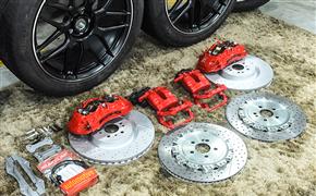 新款奔驰GLE改装AMG刹车+21寸AMG款定制锻造轮毂