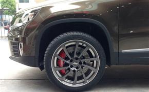 大众途观改装Rotora大六刹车套装