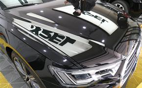 突破時代的凌厲姿態 奧迪A6L全車裝貼XPEL ARES系列全車隱形車衣