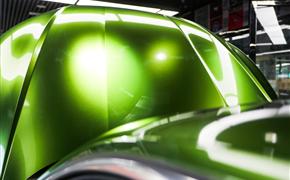 曼巴綠改色 S5六活塞剎車裝車 最炫奧迪A5兩門版