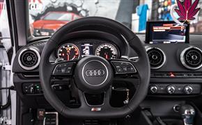 奥迪A3改了RS外观运动套件和RS款轮毂