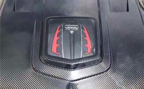 奥迪A7 S7 Rs7 Imp透明碳纤维 机盖 安装位