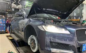 捷豹XF改装Rotora刹车套装