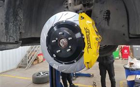 本田URV改裝Rotora剎車系統
