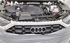 21款奥迪Q5L改装升级原厂360全景影像及效果展示