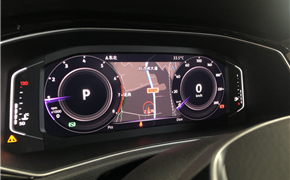 大众探歌升级液晶仪表,同步氛围灯 胎压营造高科技更为你安全驾驶