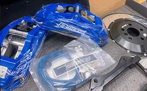 新款宝马X3•G08改装Rotora刹车系统