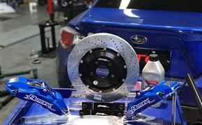 斯巴鲁BRZ(ZC6)改装Rotora刹车