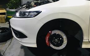 本田杰德(FR1/2)改装Rotora刹车