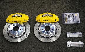 凯迪拉克CT4改装TEI Racing P40NS刹车卡钳套件
