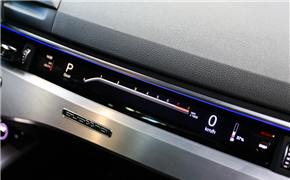 奥迪A4L安装副驾驶液晶仪表及升降高音