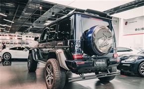 巨物改装,奔驰G500 4×4²升级巴博斯全碳纤维套件