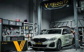 宝马新3系 G28(国六)升级Velocita(威洛斯蒂)-VE智能5G排气系统