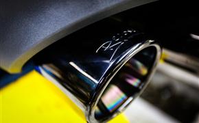 奥迪Q7升级Repose阀门排气+SQ7原厂四出尾唇