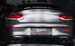 【新品首发】21款AMG奔驰C43升级Repose智能阀门排气