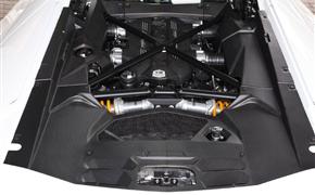 兰博基尼大牛埃文塔多LP700改装OEM干碳纤维发动机内饰引擎盖板