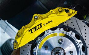 比亚迪秦改装TEI Racing P60NS刹车卡钳套件