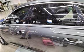 奥迪A6L做全车四门隔音 升级双层隔音隐私玻璃