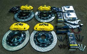 马自达阿特兹改装TEI Racing P系列街道版性能刹车卡钳套件