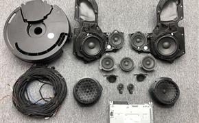 奥迪A6 C8升级全套原厂BO16件套喇叭