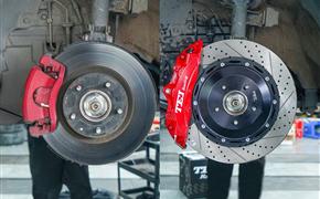 马自达阿特兹改装TEI Racing P60NS刹车卡钳套件
